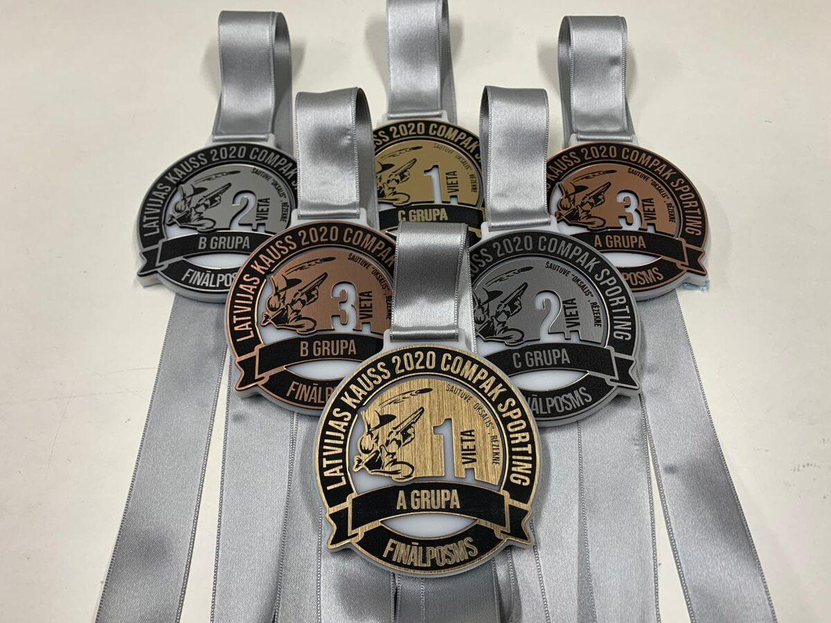 Zelta medaļa, sudraba medaļa, bronzas medaļa!